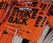 Kiterjedt sztrájk Nagy Birtanniában