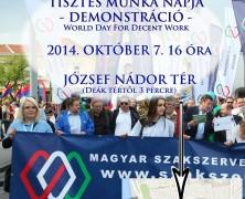 Tisztes Munka Világnapja – október 7.