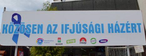 Miskolc – Köss egy kék szalagot az Ifiházra!