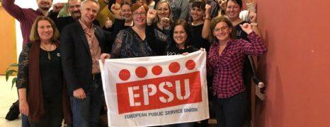 A magyarországi EPSU tagszervezetek