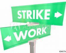 Sztrájk – bírósági kereset előkészítése