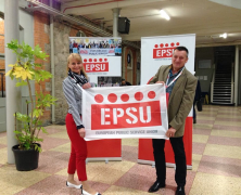 Az EPSU 10. kongresszusa Dublinban
