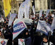 A PSZ tüntetés képes összefoglalása