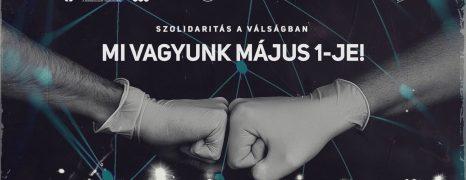 Digitális Május 1. az online térben – Rólad szól, csatlakozz!
